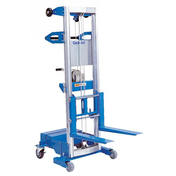 gl 8 genie lift with counterweight base material lift sales inc