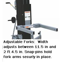 ADJUSTABLE FORKS for Super Tower (ST)