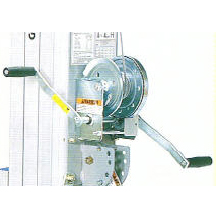 WINCH, w/Decal 1-Speed / SLA & SLC, (Without Handles)